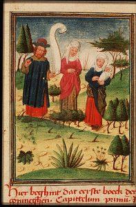Elkanah, Peninah and Hannah
