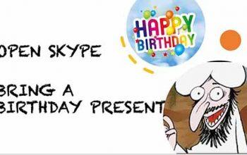 Open Skype: Muhammad's Birthday, Q&A
