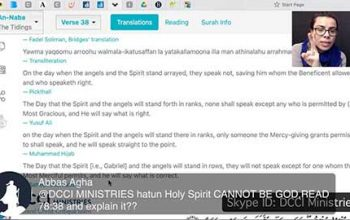 Open Skype: Is the Holy Spirit God? William Albrecht vs Shabir Ally